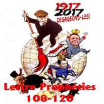 Série Numéros 108 à 120