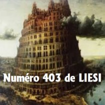 NUMERO 403 – 31 Juillet 2018