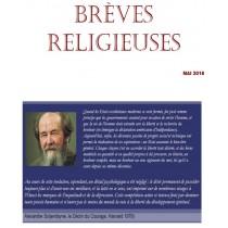 BREVES RELIGIEUSES - MAI 2018
