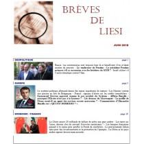 BREVES DE LIESI - JUIN 2018