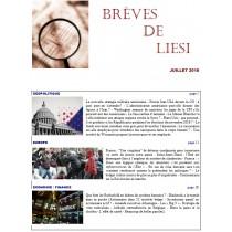 BREVES DE LIESI - JUILLET 2018