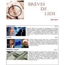 BREVES DE LIESI - AOUT 2018