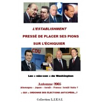 L'ESTABLISHMENT   PRESSÉ DE...