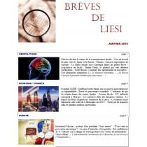 BREVES DE LIESI - JANVIER 2019