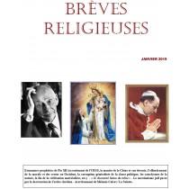 BRÈVES RELIGIEUSES -...