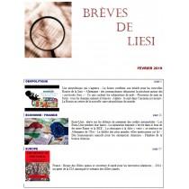 BREVES DE LIESI - FEVRIER 2019