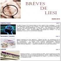 BREVES DE LIESI - MARS 2019
