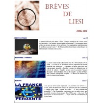 BREVES DE LIESI - AVRIL 2019