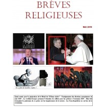 BREVES RELIGIEUSES - MAI 2019