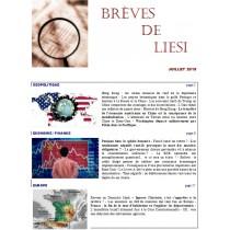 BREVES DE LIESI - JUILLET 2019