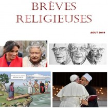 BREVES RELIGIEUSES - AOUT 2019
