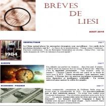 BREVES DE LIESI - AOUT 2019