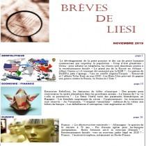 BREVES DE LIESI - NOVEMBRE...