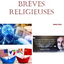 BREVES RELIGIEUSES - MARS 2020