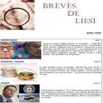 BREVES DE LIESI - AVRIL 2020