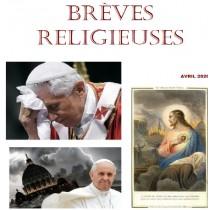 BREVES RELIGIEUSES - AVRIL...
