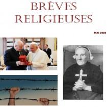 BREVES RELIGIEUSES - MAI 2020