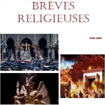 BREVES RELIGIEUSES - JUIN 2020