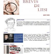 BREVES DE LIESI - AOUT 2020