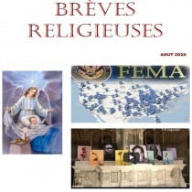 BREVES RELIGIEUSES - AOUT 2020