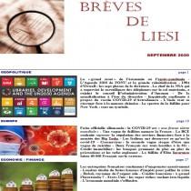 BREVES DE LIESI - SEPTEMBRE...