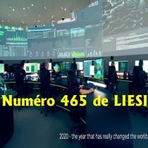 NUMERO 465 DU 28 FEVRIER 2021