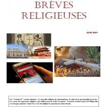 BREVES RELIGIEUSES - JUIN 2021